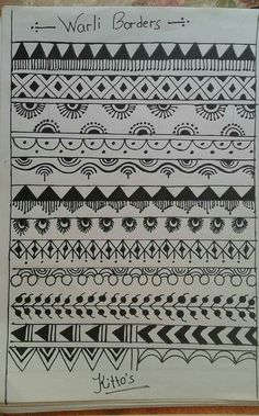 Wa Mandala Art, Art Painting, Worli Painting, Tribal Drawings, Pottery Painting, Madhubani Painting, Tribal Art Drawings, Folk Art Painting, Tribal Art Designs