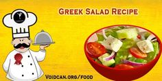 Voidcan.org share with you simple and easy recipe of Greek salad which you can try yourself and make your love ones happy.
