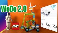 LEGO WeDo programación sensor de distancia.