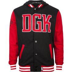 DGK Freshman Mens Varsity Jacket ($65) ❤ liked on Polyvore