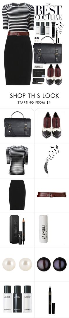 """Work Clothes"" by crblackflag ❤ liked on Polyvore featuring Accessorize, Yves Saint Laurent, Lanvin, Theory, Nudestix, L:A Bruket, Henri Bendel, Links of London, Napoleon Perdis and Bobbi Brown Cosmetics"