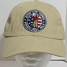 b43bcf9a3e9 USGA Member Men Baseball Cap 2005 US Open PINEHURST NO2 Golf Adjustable Hat   2