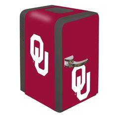 Oklahoma Sooners Portable Party Hot/Cold Fridge