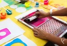 Koskela : 120713 - Workshop - Print your own Christmas stocking with Kate Banazi // Saturday 7th December 2013 // 10.30-12.00pm // 7-16 Year...