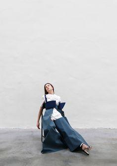 "skt4ng:""BLUE"" | Photography by Francesco Bonasia for Sicky Magazine"