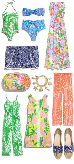 Lilly for Target. I need that shift dress!