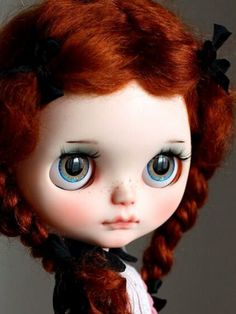 Redheaded bjd with amazing eyes!