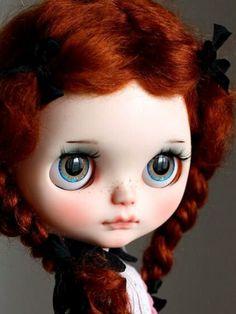 Redheaded bjd with amazing eyes!