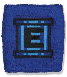 (Price/Piece)GOGO Embroidered Terry Wristband - Cartoon Sports Logo -  Baseball