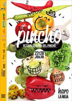 Cartel para la Semana del Pincho ´13 de Haro. La Rioja. España