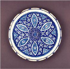 Turkish Iznik Plate