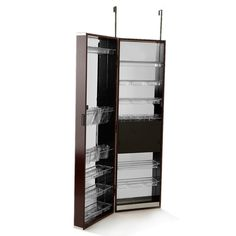 Over The Door Mirrored Hanging Beauty Armoire At HSN.com