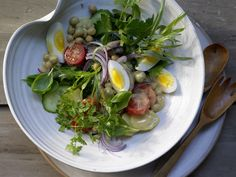 Kräuter-Kartoffel-Salat - mit Kichererbsen und Sardellen - smarter - Kalorien: 576 Kcal - Zeit: 40 Min.   eatsmarter.de