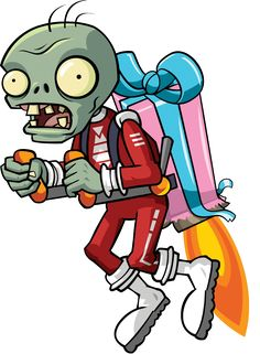This is the gallery for the Jetpack Zombie. Plants Vs Zombies, Zombies Vs, Zombie Birthday Parties, Zombie Birthday Cakes, 5th Birthday, Plantas Versus Zombies, P Vs Z, Art Et Design, Plant Zombie