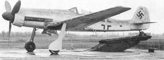 """The Ta 152 was a high-altitude fighter-interceptor developed from the Focke-Wulf Fw 190 aircraft, but the prefix was changed from """"Fw"""" to """"Ta"""" to recognize the contributions of Kurt Tank who headed the design team."""