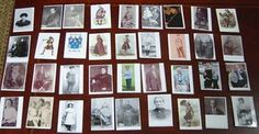 Ancestor cards to teach kids about genealogy.