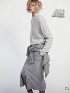 Louise Mikkelsen By Stephen Ward for Elle Australia February 2015