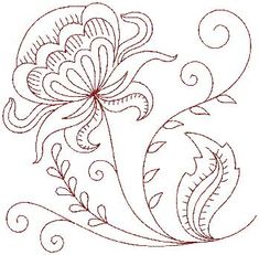 Gorgeous lines, try using pretty fabric markers on a pillowcase or napkin