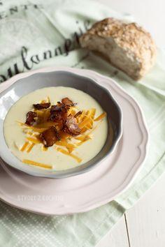 St[v]ory z kuchyne | Potato Soup with Cheddar and Bacon