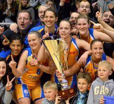 Basket féminin: une deuxième coupe de Belgique pour Castors Braine