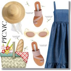 Picnic by drigomes on Polyvore featuring Mode, CO, Steve Madden and Samuji