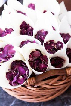 Lila Hochzeit Inspiration