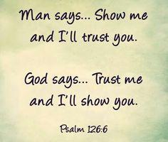 Trust God Quote