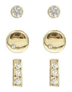 Kensie Trio Earrings Women's Silver
