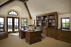 Office - traditional - home office - other metro - Claudio Ortiz Design Group, Inc.