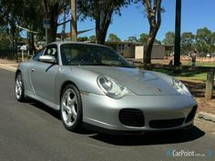 2003 996 Porsche 911 Carrera 4S with Turbo front