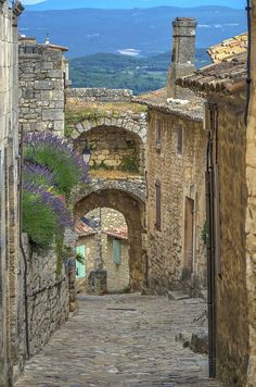 Village of Lacoste, Provence, France