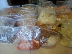 2 hours, 24 crock pot/freezer meals, $146 - simple, easy to follow recipes great for summer time or year round.