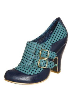 Irregular Choice - WADAS WISH - Botines bajos - azul