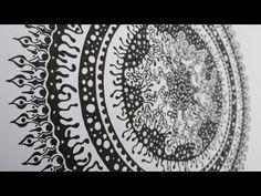 Zentangle #10 * Zeitraffer - YouTube