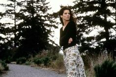 Practical Magic, liked her long skirt, black cami and cardigan.