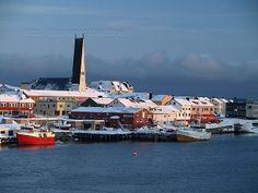 Vardø, Finnmark. A bord du MS 'Midnatsol', Hurtigruten,
