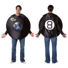 magic 8 ball adult game magic halloween costume completecostume - Magic 8 Ball Halloween Costume