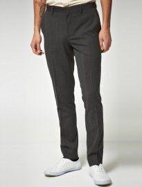Asos Skinny Fit Grey Suit Trousers