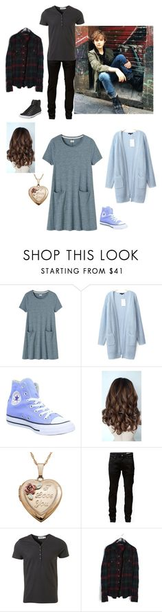 """""""Untitled #126"""" by sea-queen on Polyvore featuring Toast, Converse, Levi's, Jack & Jones, Topman and Rock & Republic"""