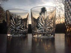 Edinburgh Crystal Star of Edinburgh Whisky Tumblers