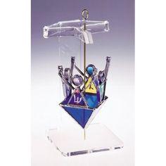 Stained Glass Dreidel Designs Glass Dreydels - ahuva Judaica
