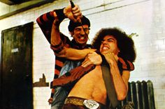 Rembrandt and a Punk. From the 1979 movie The Warriors