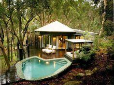 Pool house. Perfect tiny home!