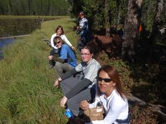 Snack time by the lily pond on the Clear Lake Trail, Canyon, YNP