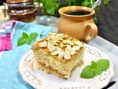 Szybkie ciasto Snikers na krakersach   Przepisy Kulinarne