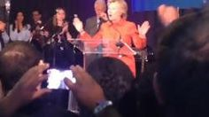 Hillary Clinton Says Goodbye To Campaign Staff After 'very, Very Tough' Loss http://www.biphoo.com/celebrity/hillary-clinton/news/hillary-clinton-says-goodbye-to-campaign-staff-after-very-very-tough-loss