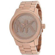 Michael Kors Runway Rose Gold-Tone Ladies Watch MK5661