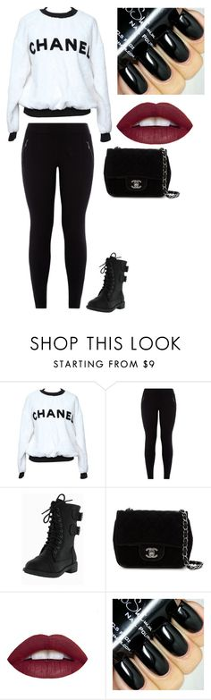 """""""Chanel"""" by justinbiebz94 on Polyvore featuring Chanel, women's clothing, women, female, woman, misses and juniors"""