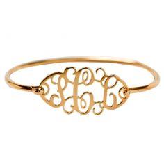 Yes, please! Monogram Bracelet