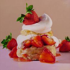 Realist Oriana Kacicek (American: 1986 - )   Strawberry Shortcake VIII (2012)